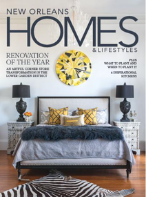 New Orleans Homes & Lifestyles Cover Spring 2017